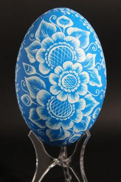 Scratched egg shell (Kraszanki) : Anna, Poland