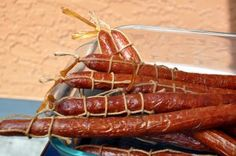 Polish Smoked Sausage (Kabanos)