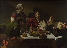 'Michelangelo Merisi Da Caravaggio The Supper At Emmaus '...