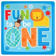 Enjoy the Wild at One Boy Jungle Birthday Supplies for this special occasion. Order plates, napkins, decorations, party favors, invitations and balloons. 1st Birthday Party Supplies, Birthday Lunch, 1st Boy Birthday, 1st Birthday Parties, Birthday Party Decorations, Neymar Birthday, Circus Birthday, Birthday Wishes, 1st Birthday Balloons