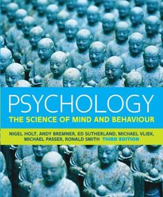 Psychology: The Science of Mind and Behaviour av Nigel Holt (Häftad) Psychology Programs, Psychology Disorders, Behavioral Science, 12th Book, Mcgraw Hill, Research Methods, Book Summaries, Learning Environments, Critical Thinking
