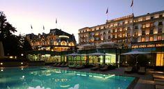HOTEL|スイス・ローザンヌのホテル>ジュネーブ湖畔10エーカーの緑地に立地>ボー リバージュ パレス(Beau-Rivage Palace)