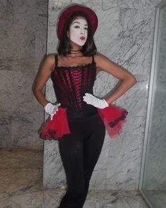 Mime Makeup, Clowning Around, Tops, Women, Fashion, Moda, Women's, Fashion Styles, Fasion