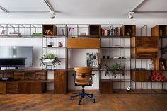 Divisória íntimo/social ou estante - BM Estúdio para Mollo Furniture