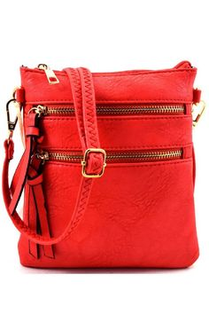 On the Go Pop Of Color Purse - Sassy Posh - 4
