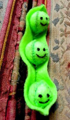 Three peas in a pod by Rebekah barter