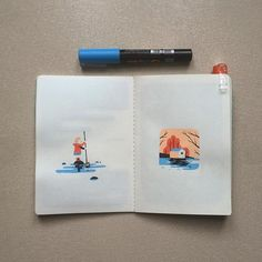 #arradon #sketchbook #poscaart #posca #illustration