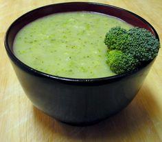 Green Goddess Broccoli and Arugula Soup