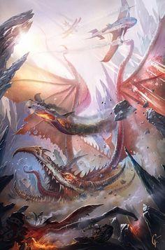 Dragón derribado