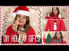 ▶ DIY Holiday Gifts! Quick, Easy, And Affordable Last Minute Gifts! - YouTube