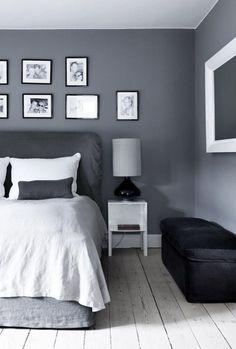 Grijs, een prachtige kleur voor de slaapkamer!