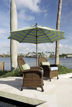 FiberBuilt Umbrellas and Cushions-The Market Umbrella  Available in 7.5ft,9ft & 11ft Octagon and 6ft & 7.5ft Square, Push Up, Pulley & Pin or Crank Lift, Made with Sunbrella Marine Grade Solution Dyed Acrylic Fabric. alexis@fiberbuiltumbrellas.com Market Umbrella, Pulley, Umbrellas, Cushions, Patio, Marketing, Outdoor Decor, Fabric, Tela