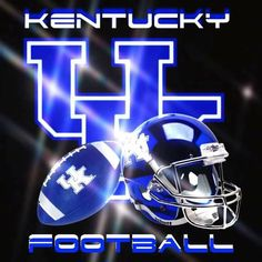 University Of Kentucky Football, Kentucky Sports, Football Art, College Football, Football Helmets, Uk Basketball, Kentucky Basketball, Go Big Blue, Missouri