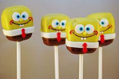 SpongeBob Cake Pops