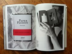 paper passion - smell like a book for  change - New Books