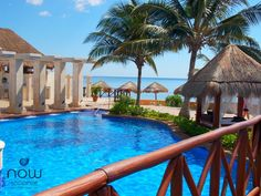 A peak at paradise at the beautiful Now Sapphire Riviera Cancun.