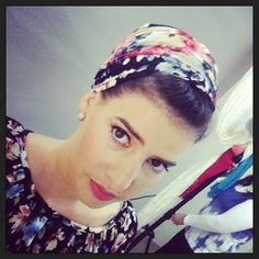 New tichel - Fall 2014 from the photo-shoots:)) #tichels #headcovers #hijab #snood #turban #headwarps #christianmodesty  from here - http://instagram.com/p/r1W8UIPTq5/?modal=true