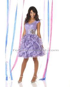 modest short prom dress