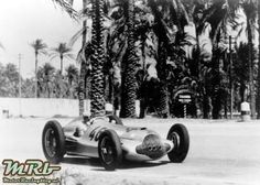 Victory in the Tripoli Grand Prix, May 15, 1938: Hermann Lang