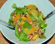 Walnut Salad, Cobb Salad, Orange, Food, Essen, Meals, Yemek, Eten