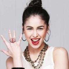 WHAT JULIA BARRETTO IS WEARING: Union Jack Ring from SM Accessories Filipina Actress, Filipina Beauty, Claudia Barretto, Julia Baretto, Star Magic, Union Jack, Filipino, Celebrity, Ring