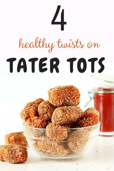 We've rounded up 4 healthy twists on tater tots that swap potatoes for other veggies (think broccoli, zucchini, and cauliflower). Rather than hitting the fryer, these better-for-you bites get baked in the oven, resulting in tots that are just as crispy and flavorful as the originals. #healthyfoodrecipes #tatertots #everydayhealth   everydayhealth.com