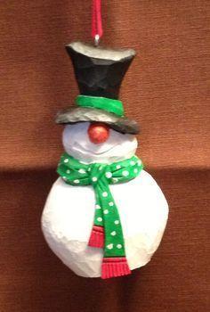 whittle snowman