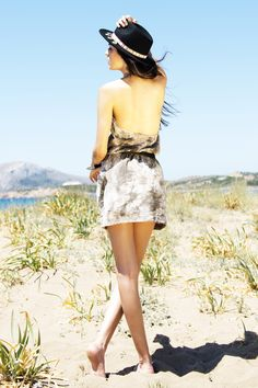 Tie Dye Mini Φόρεμα - ΡΟΥΧΑ -> Φορέματα & Φόρμες | Made of Grace