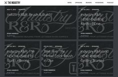 On the Creative Market Blog - Where to Learn Hand Lettering Online