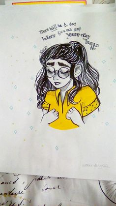 dodie secret for the mad//Dodie inktober day 22 Party Tattoos, Dodie Clark, Poems Beautiful, Mellow Yellow, Music Stuff, Aesthetic Pictures, Drawing Reference, Dodie Lyrics, Musica