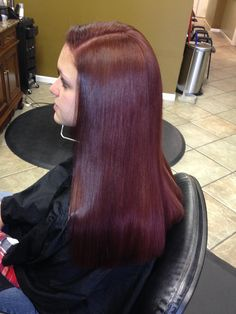 3 of 3, blowed dried and flat iron the cut was approached with a straight comb, scissor over comb, given it a very precise,blunt cut, perfection I must say:)