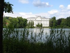 The Von Trapp family home in the Sound of Music, Salzburg - Leopoldskron Castle, now a hotel - photo by H. Irowez