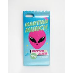 Skinnydip Martian Munch Silicone iPhone 5 Case (535 UAH) ❤ liked on Polyvore featuring accessories, tech accessories, multi, iphone cover case, apple iphone cases, silicone iphone case, iphone case and silicon iphone case