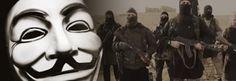 LITORAL CENTRO - COMUNICAÇÃO E IMAGEM: Anonymous ataca site do Estado Islâmico e troca co...