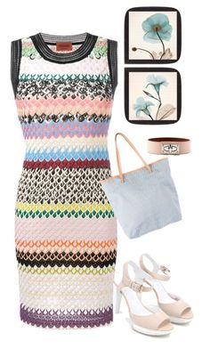 """dress"" by masayuki4499 ❤ liked on Polyvore featuring Givenchy, Missoni, Fendi and Hogan"