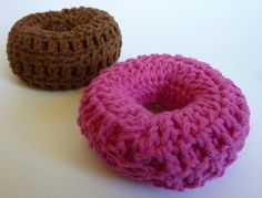 Crochet Dynamite: Better than a Sock Bun! I'm going to make one of these for my daughter, she wears sock buns all the time!