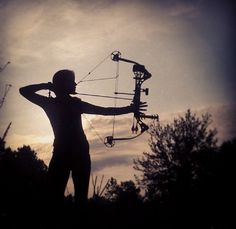 Bow hunting picture