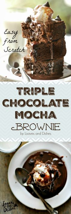 SUPER EASY. Make as quickly as a mix (almost). Not only that but this post has a coupon AND a giveaway! FABULOUS Brownies! Give these as a Gift TODAY! #ad