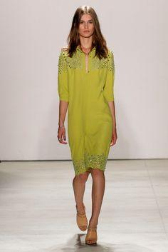 Jenny Packham S/S '16 New York Fashion, Runway Fashion, Fashion Models, High Fashion, Fashion Show, Fashion Design, Women's Fashion, Jenny Packham, Fashion Week 2016