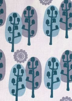 Banksia Trees by Saffron Craig | Saffron Craig Organic Fabrics