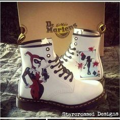 I can imagine my skates like this Harley quinn