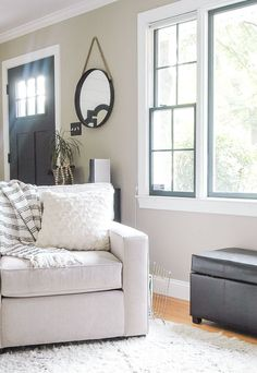 If the picture doesn't convince you enough, here are 3 incredible reasons to paint your windows dark!