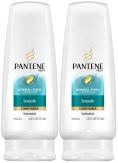 Pantene shampoo and conditioner