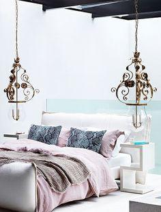 Pastel bed