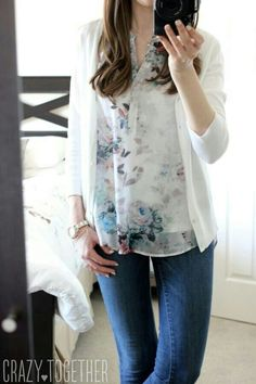 Stitch Fix outfit. Simple and Romantic