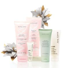 Head-to-toe softness is a wonderful winter treat. Help her make it last with this Special-Edition All Over Hydration Set, including the Mary Kay® 2-In-1 Body Wash & Shave, Mary Kay® Hydrating Lotion, Satin Lips® Lip Balm, Fragrance-Free Satin Hands® Hand Cream, and Mint Bliss™ Energizing Lotion for Feet & Legs.