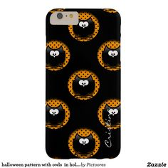 halloween pattern with owls  in hollows barely there iPhone 6 plus case