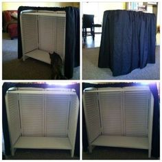 DIY for Checkout Stand……..or turn it around for table height (& under table) display