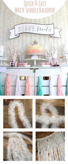 Easy DIY Backdrop Photo Booth Ideas by DIY Ready at  http://diyready.com/20-diy-photo-booth-ideas/
