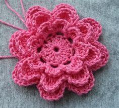 Crochet flower 2